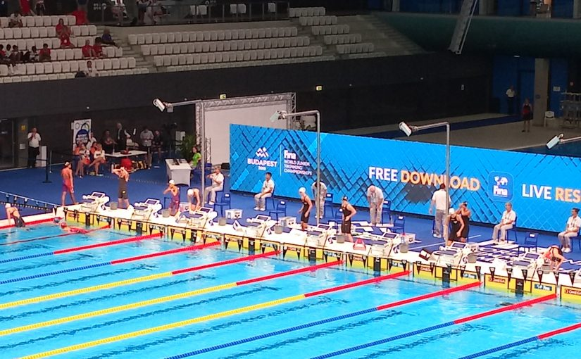 FINA Junior Úszó Világbajnokság- Budapest beszámoló I.